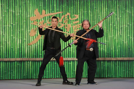 Vincent Zhao and Sammo Hung collaborate for the first time
