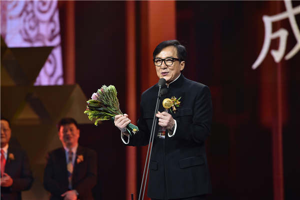 Jackie Chan wins Phoenix TV award for his influence