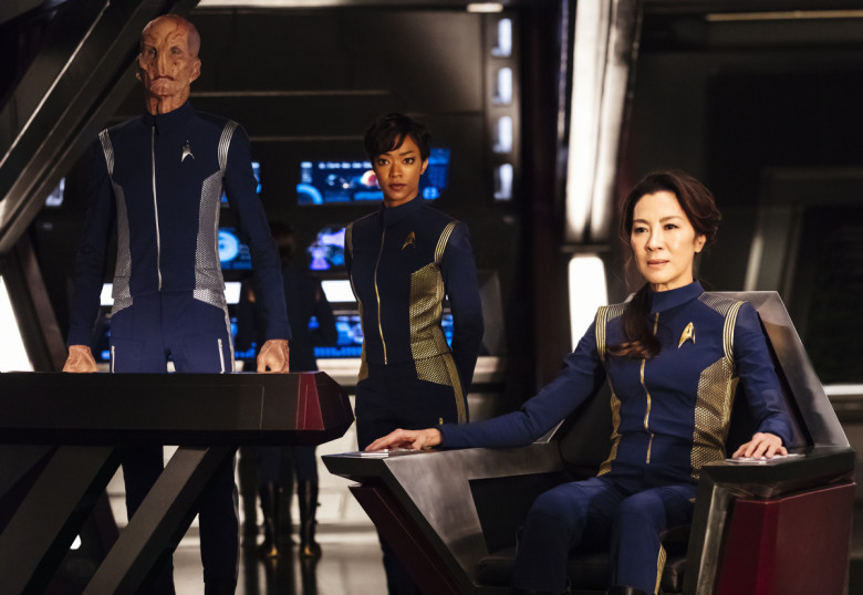 """See the first trailer for """"Star Trek: Discovery"""" featuring Michelle Yeoh"""