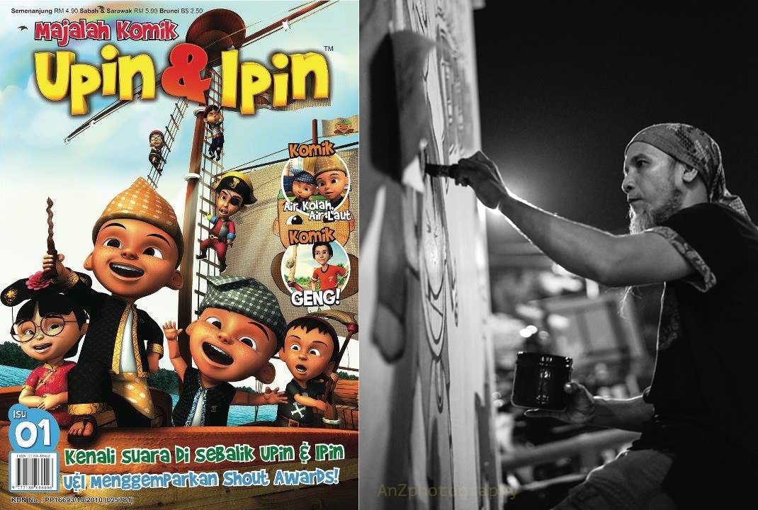 """""""Upin & Ipin"""" creator is under fire for allegedly sacking comic legend Ujang"""