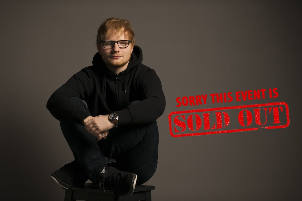 Ed Sheeran's Singapore show sold out, add second show – sold out too!