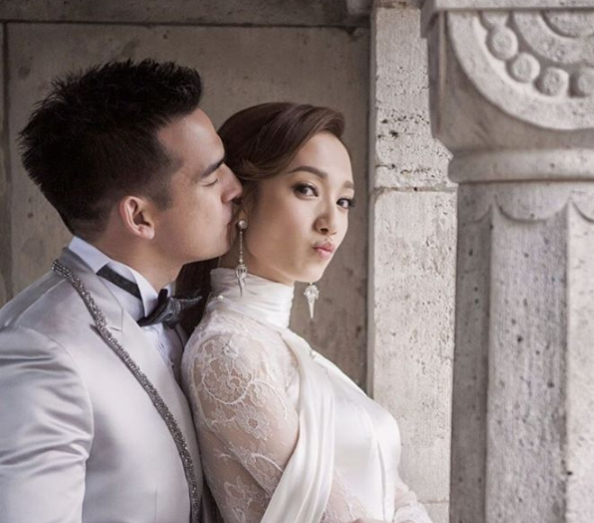 Grace Wong shares how she met her husband