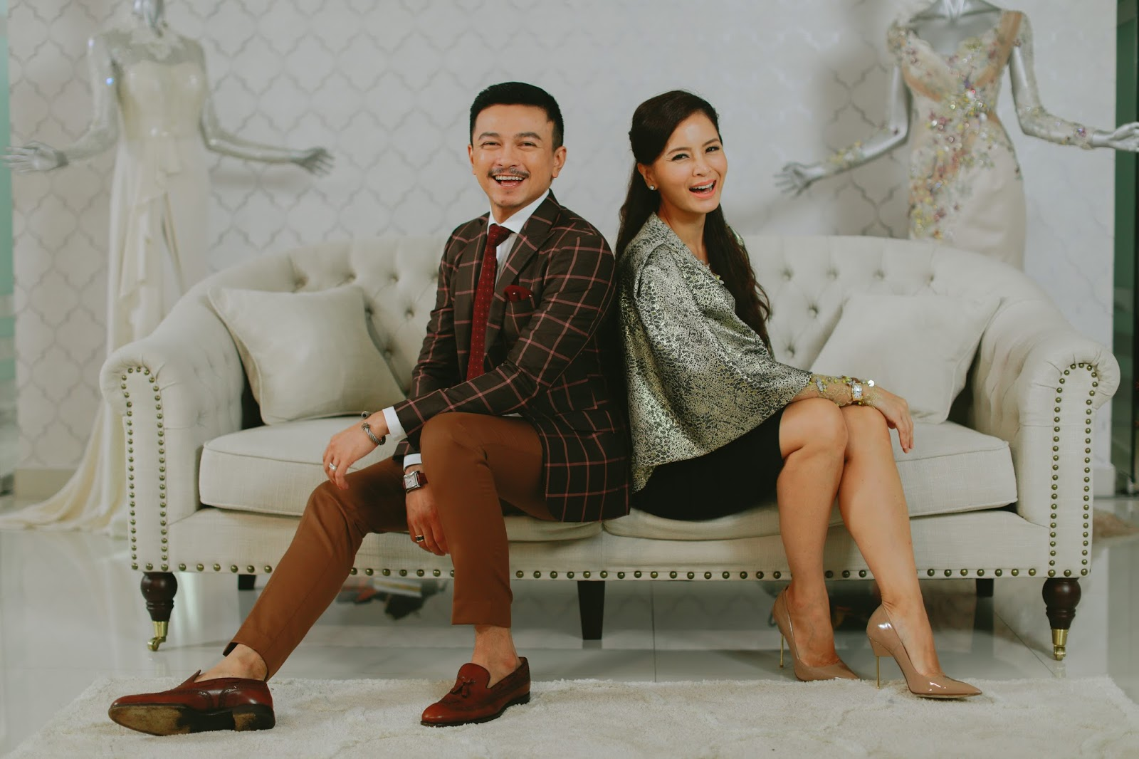 """""""Say Yes to the Dress Asia"""" announces Jovian and Daphne Iking as hosts"""