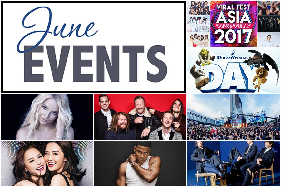Events Not To Be Missed: June 2017