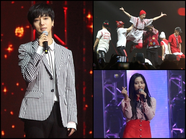[Photos] Yesung, NCT 127 & Red Velvet heat up I.Seoul.U Concert in KL