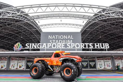 Monster Jam smashes its way into Singapore for the first time