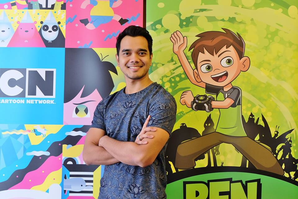 """Alif Satar lends his voice to """"Ben 10"""" animation series"""
