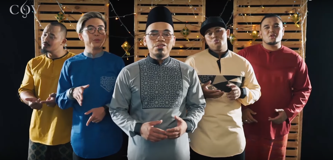 Check out Colour of Voices medley for Hari Raya