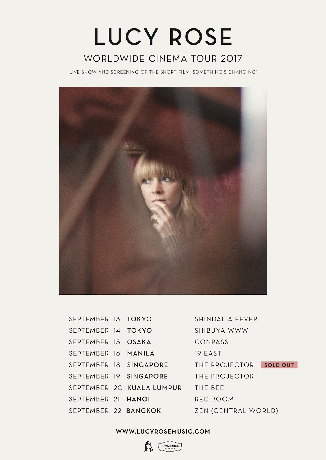 lucy rose asia 2017
