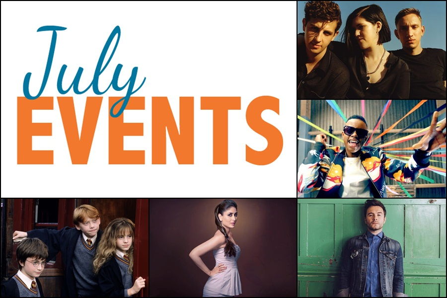 Events Not To Be Missed: July 2017