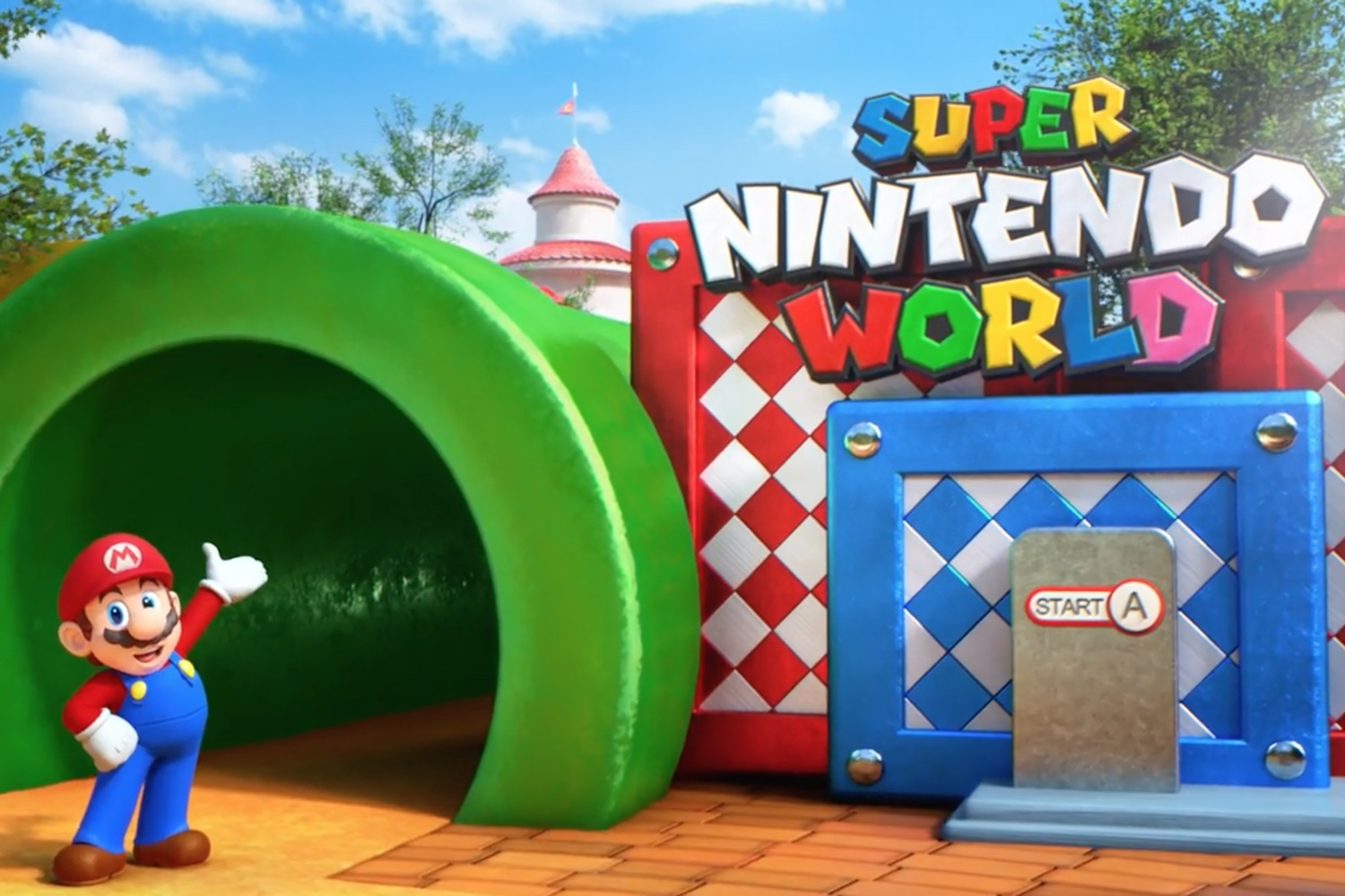 Here's what to expect from Super Nintendo World theme park