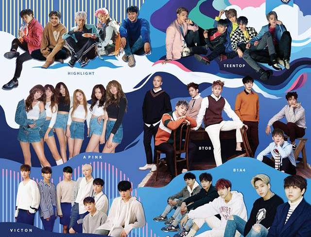 Update: More artistes announced for K-Wave Music Fest