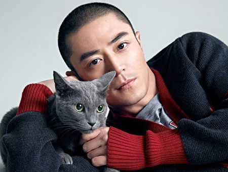 Wallace Huo is private like a cat
