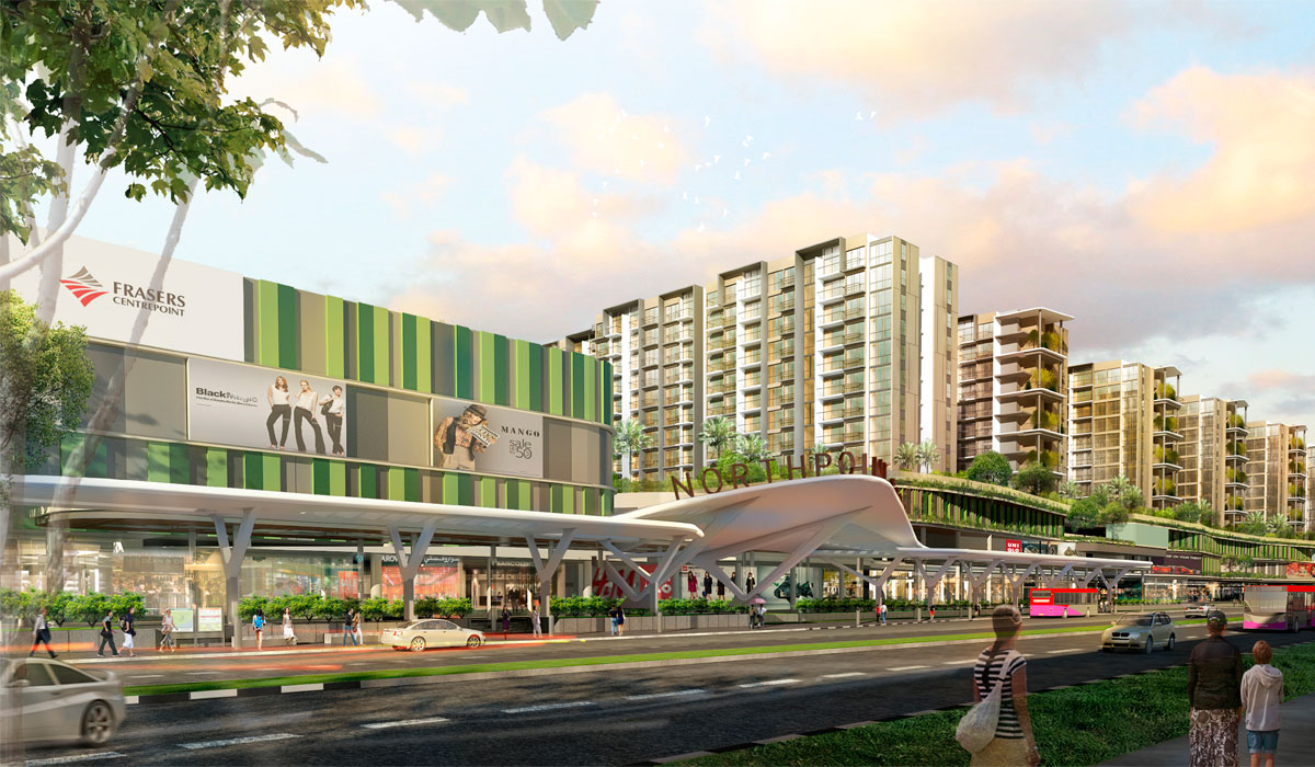 The biggest shopping mall in northern Singapore is coming!