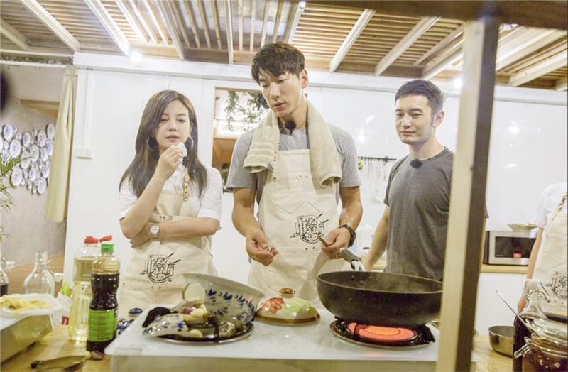 Huang Xiaoming and Zhao Wei star in first show together