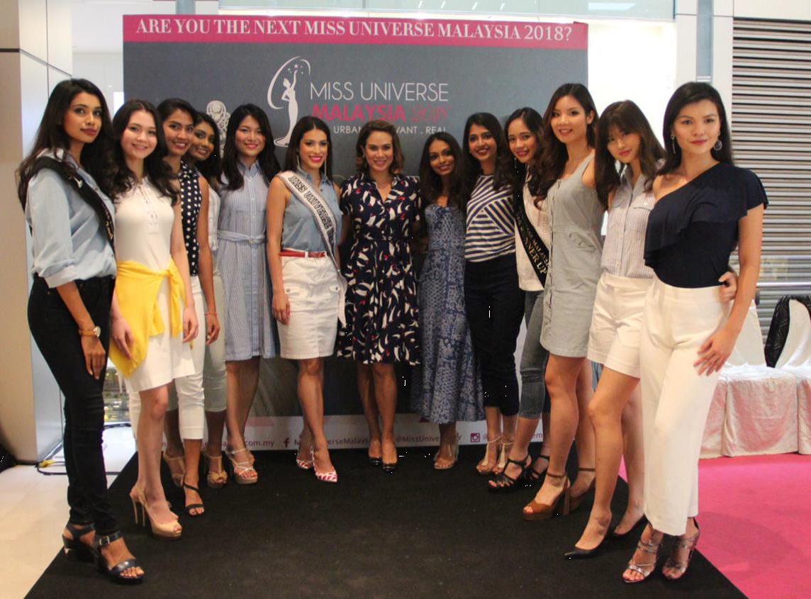 Final walk-in audition for Miss Universe Malaysia 2018
