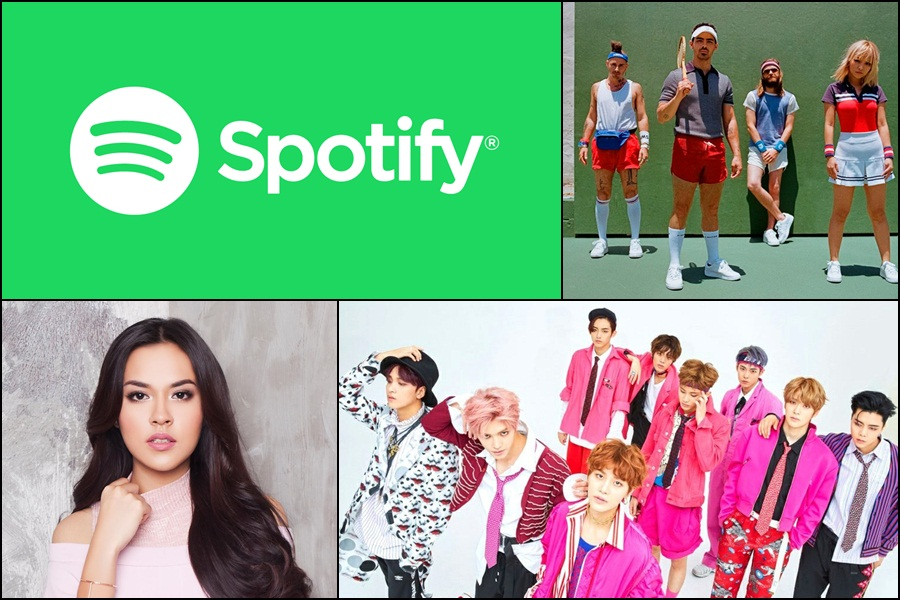 Spotify on Stage presents DNCE, NCT 127, Raisa and more