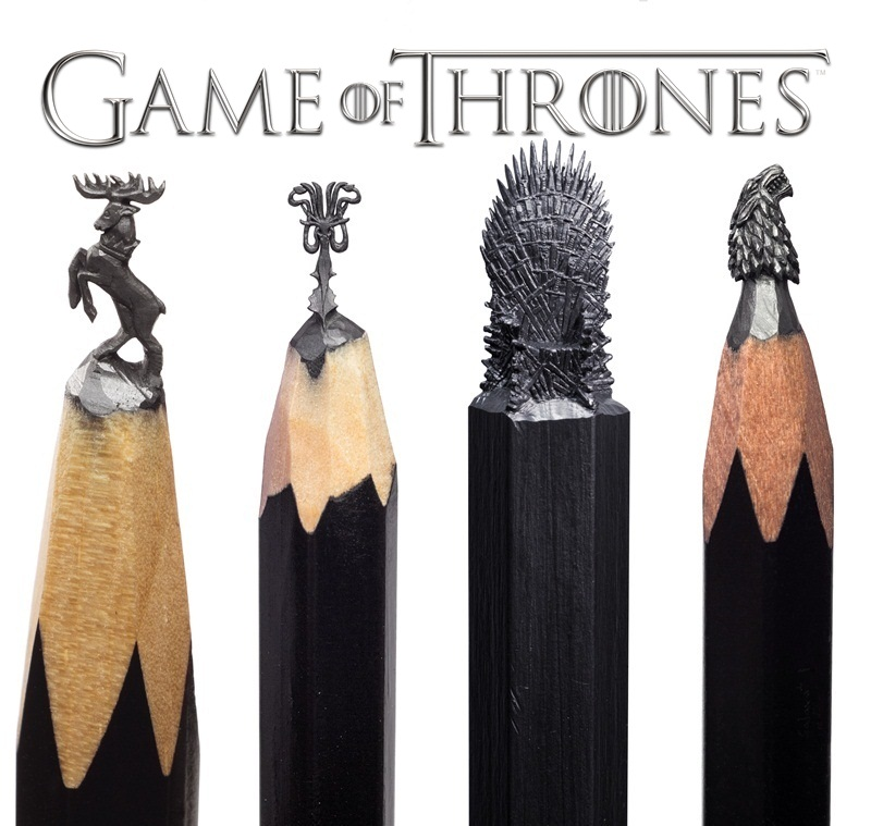 "Visit the microsculpture exhibition of ""Game of Thrones"""