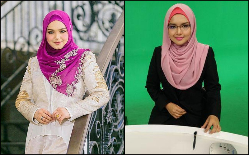 This news anchor is mistaken for Dato' Siti Nurhaliza!