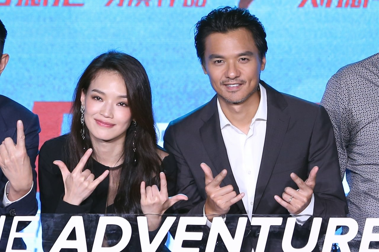 Shu Qi and Stephen Fung make first stage appearance together