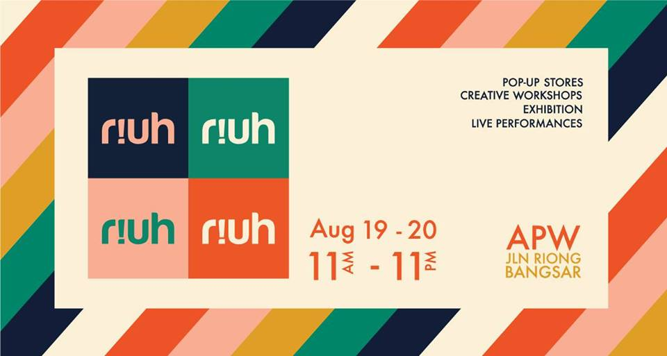 There's a new monthly creative arts festival in KL called RIUH!