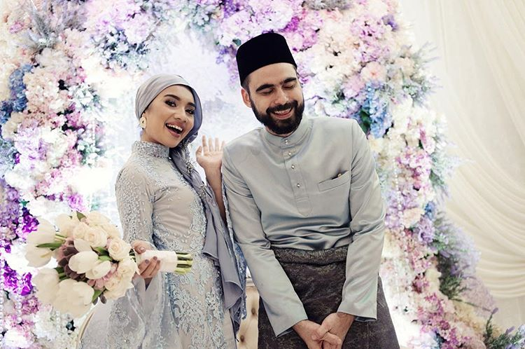 See photos of Yuna and Adam's beautiful engagement ceremony