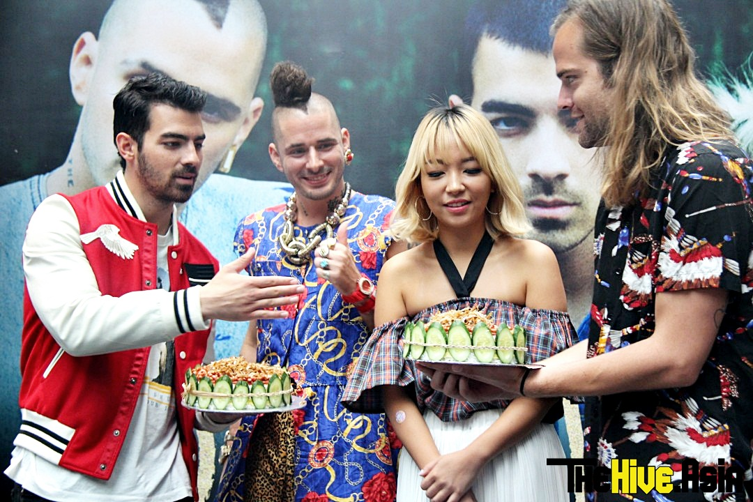 DNCE gets on the Nasi Lemak hype in Malaysia
