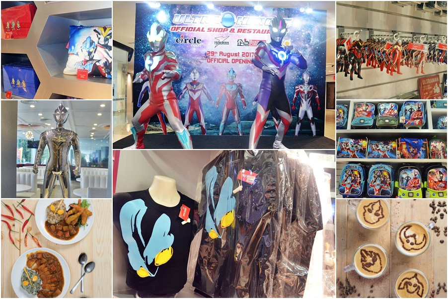 First ever Ultraman restaurant and merchandise store open in Malaysia