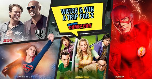 Stand a chance to win a trip to New York Comic Con 2017!