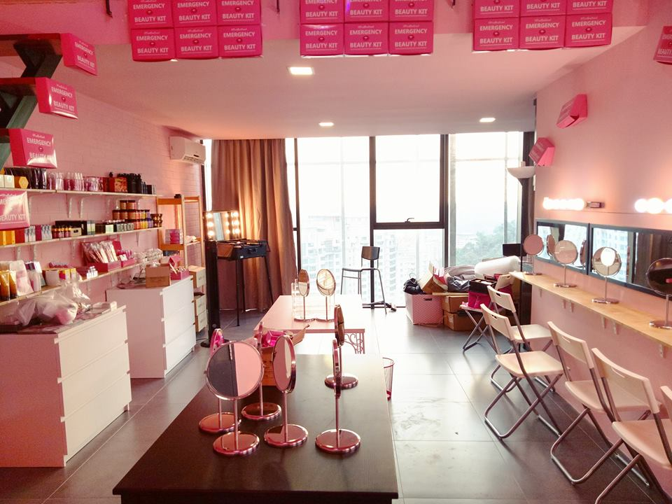 Try all sorts of makeup at Malaysia's first ever beauty café