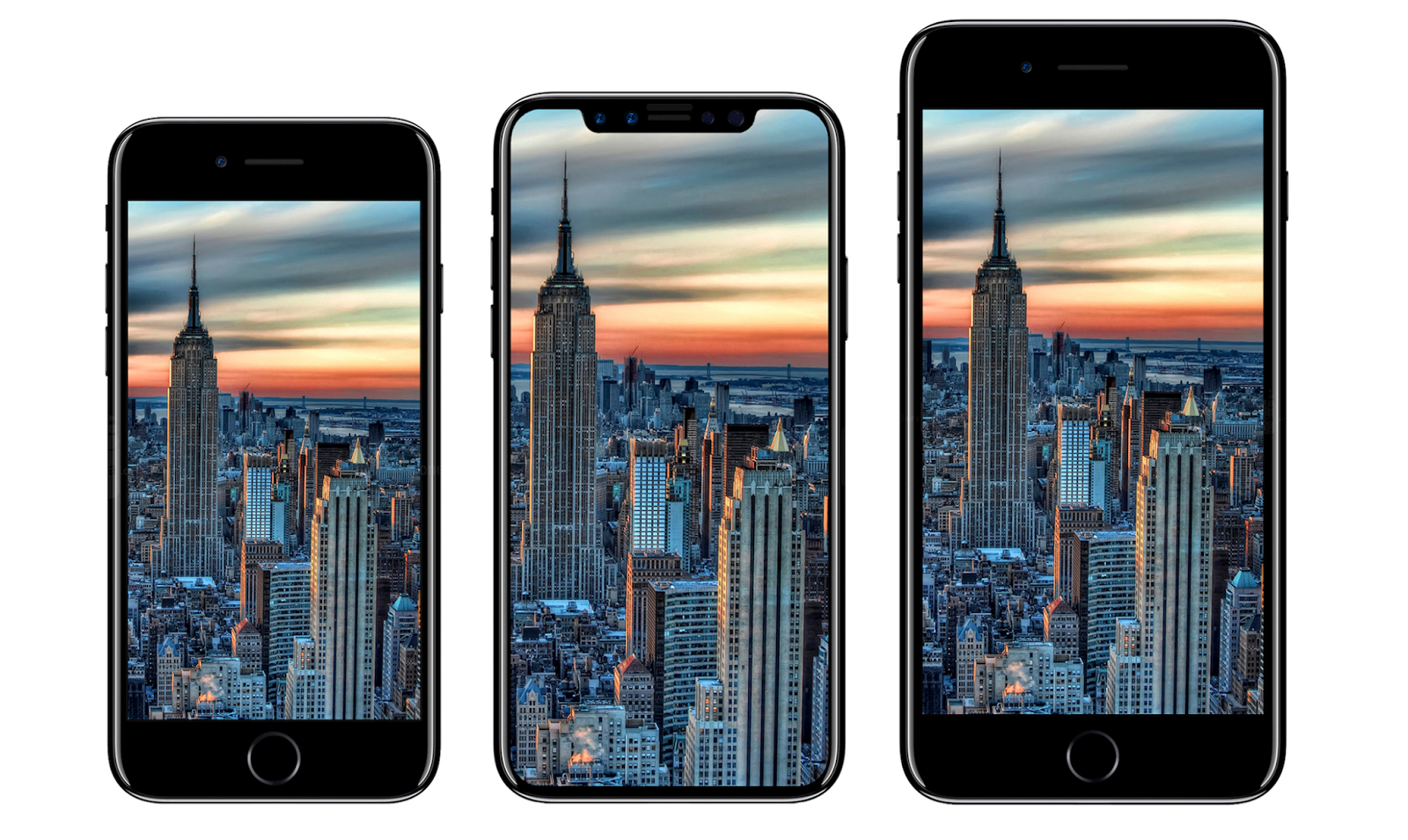 We compare the three new iPhones – X, 8 and 8 Plus!