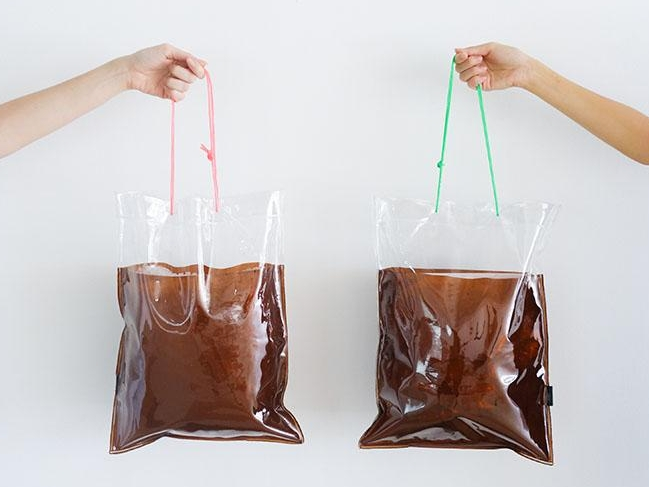 Quench your thirst for the latest trend with this 'takeaway coffee' bag