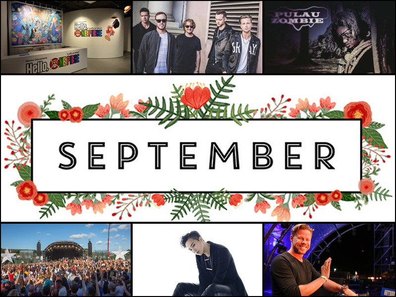 Events Not To Be Missed: September 2017