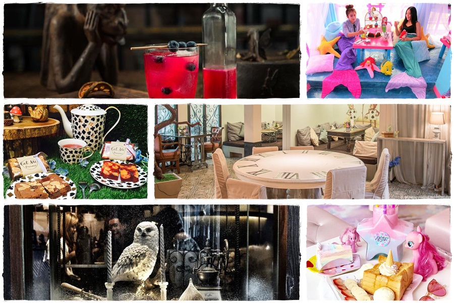 Fairy tale-like and fantasy-themed cafes in Bangkok