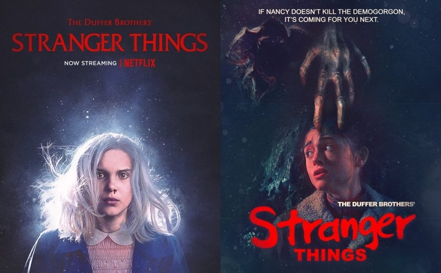 """""""Stranger Things"""" posters pay homage to classic films"""