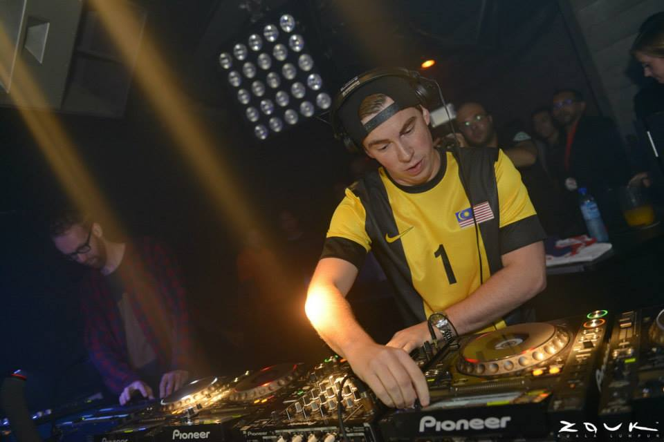 Hardwell brings his electrifying beat to Zouk KL once again!