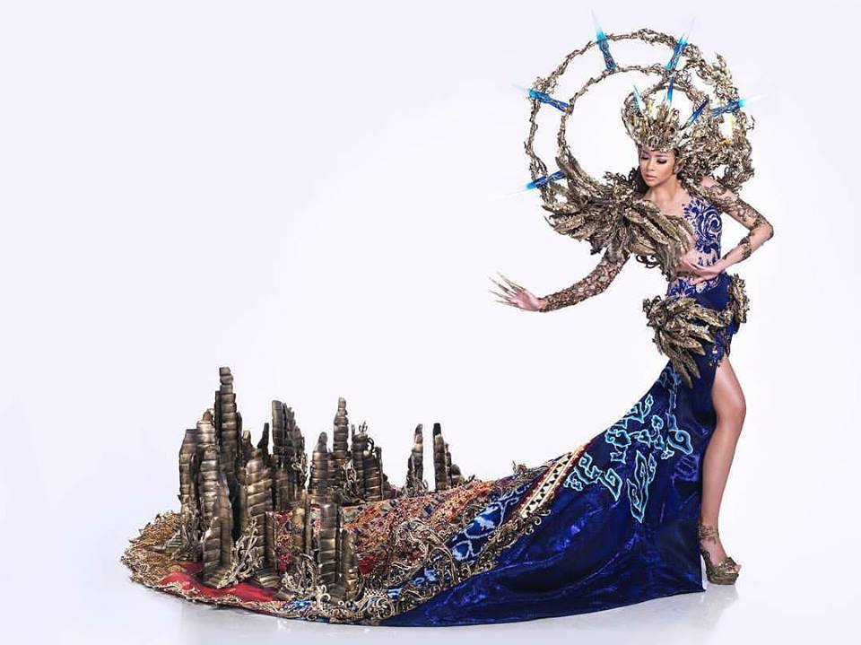 Indonesia wins Best National Costume at Miss Grand International