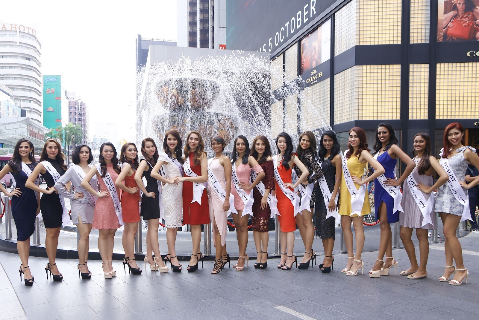 Meet the Top 18 finalists of Miss Universe Malaysia 2018