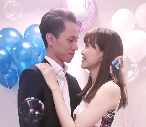 Jinny Ng and Alex Ho tie the knot
