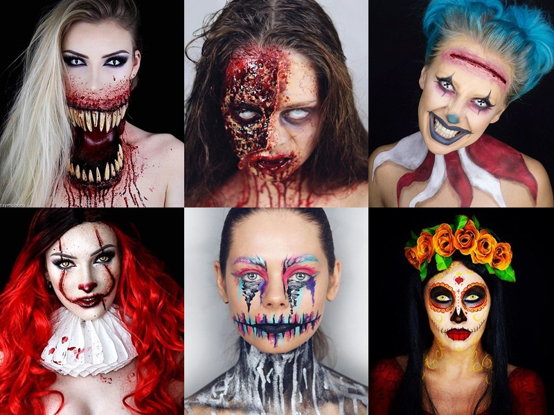 Realistic monster makeups to try for Halloween!