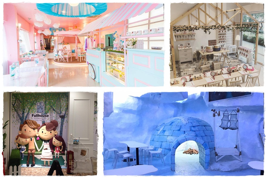 Fairy tale-like and fantasy-themed cafes in Malaysia
