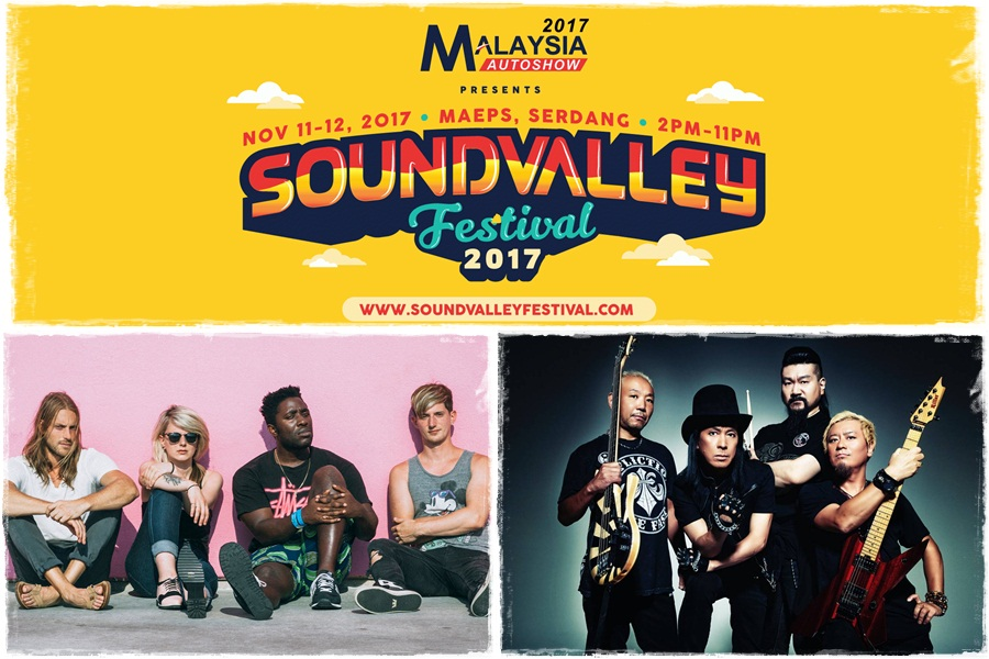 Bloc Party and Loudness headed to Malaysia next month!