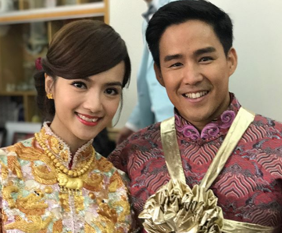 Anjaylia Chan and Epaphras Wong tie the knot