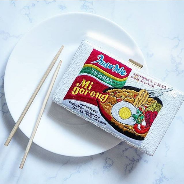 Indonesia has an Indomie-inspired clutch!