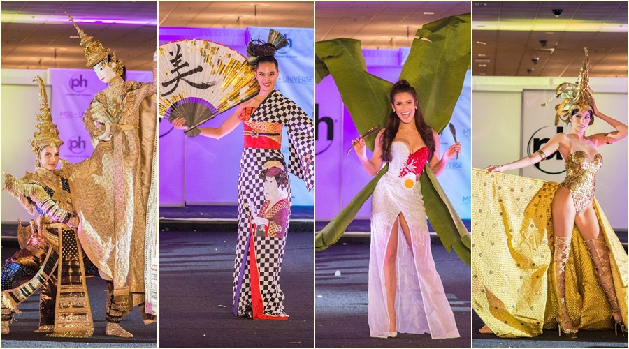 Asian beauties flaunt National Costumes for Miss Universe 2017