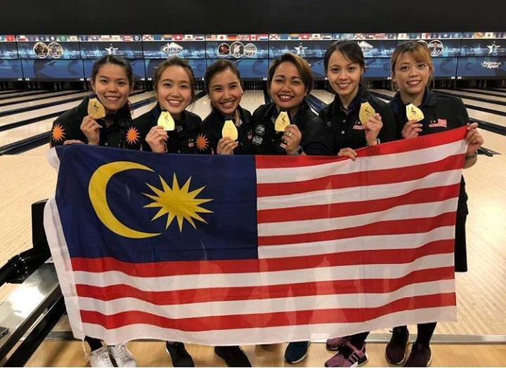 Malaysia's Women Bowling team wins gold in world championships