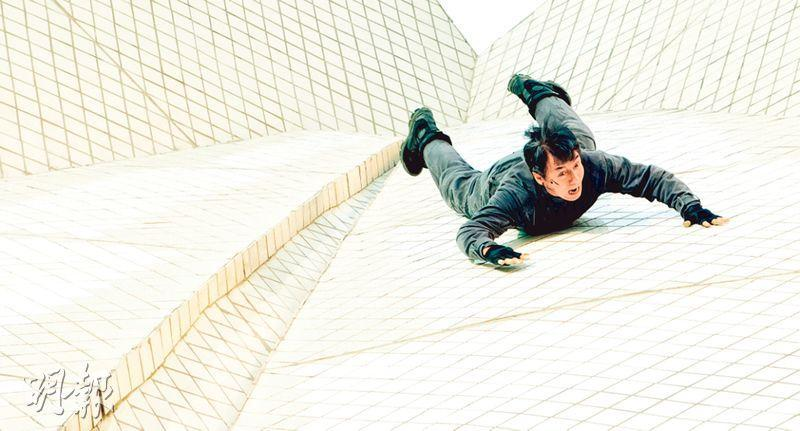 Jackie Chan in awe filming stunts at Sydney Opera House