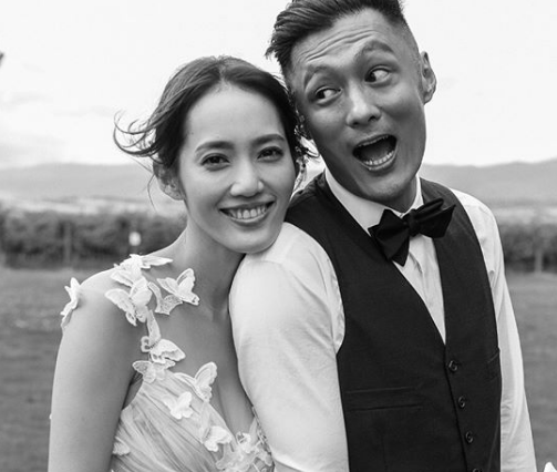 Friends congratulate Shawn Yue for getting married