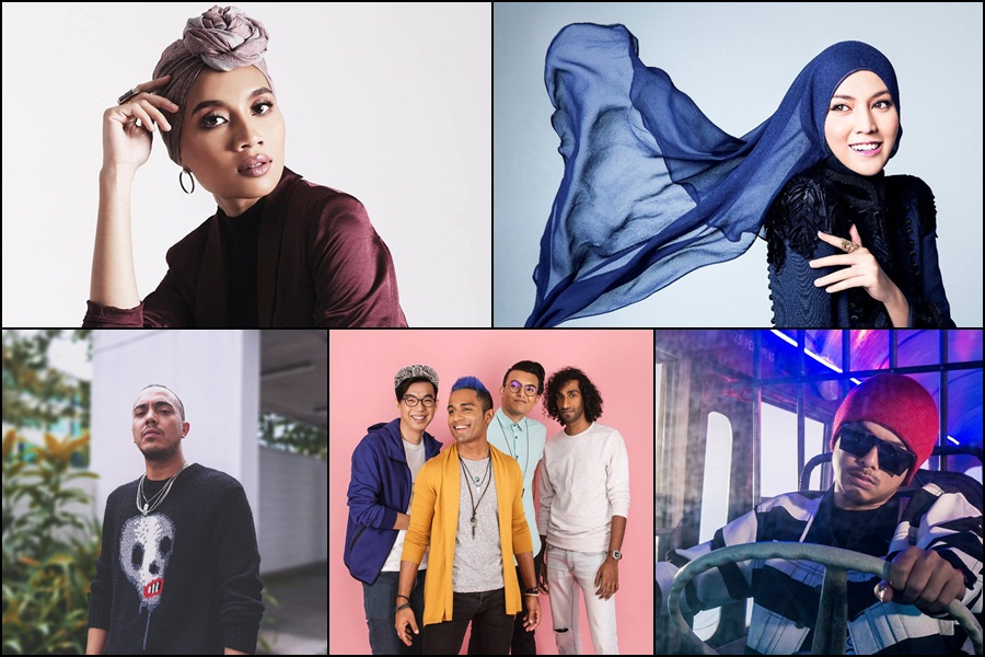 5 Malaysian artistes that you should listen to