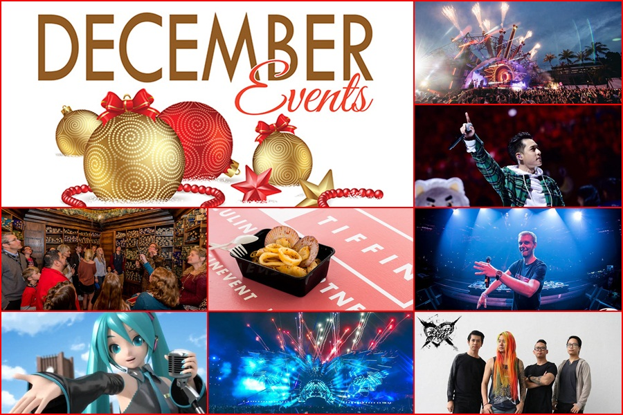 Events Not To Be Missed: December 2017